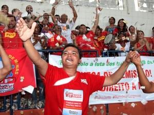 Macapá é reeleito presidente do sindicato. (Foto: Tanda Melo / Sindicato dos Metalúrgicos )