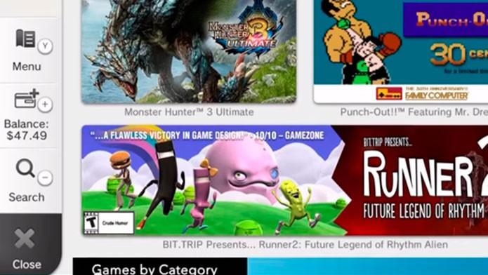 Acesse o Menu do eShop para cadastrar seu Wii U no Nintendo Club (Foto: Nintendo)