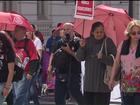 Quatro meses depois, professores protestam para relembrar 29 de abril