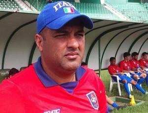 Pedro Artur, técnico do Sport-ES (Foto: Arquivo Pessoal)
