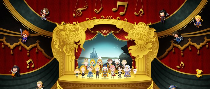 theatrhythm-final-fantasy-curtain-call (Foto: Divulgação)