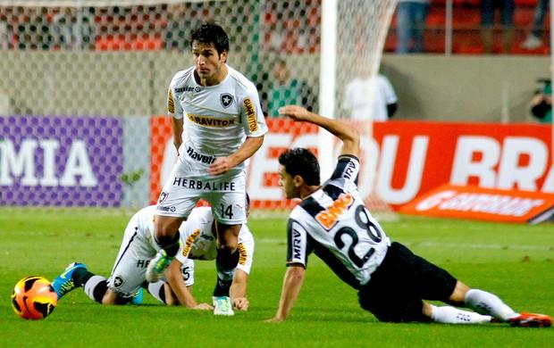 Lodeiro jogo Botafogo e Atlético-MG (Foto: Yuri Edmundo / Agência Estado)
