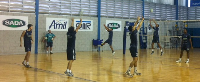 vôlei Cruzeiro (Foto: Diogo Finelli)