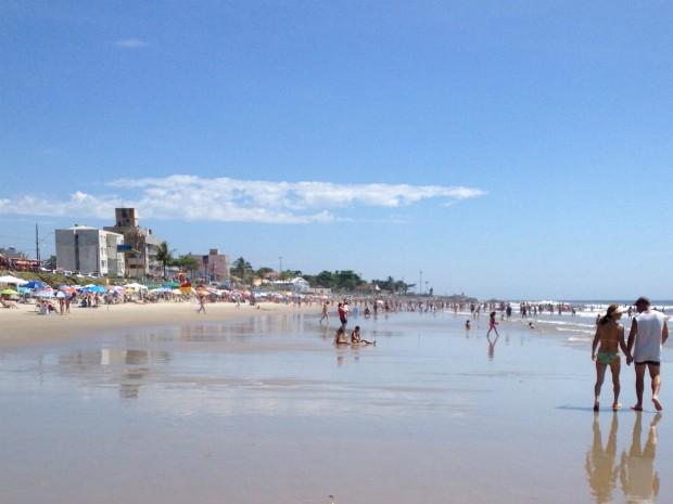 Maioria das praias e rios do Paraná estão próprios para banho (Foto: Sérgio Tavares Filho/G1)