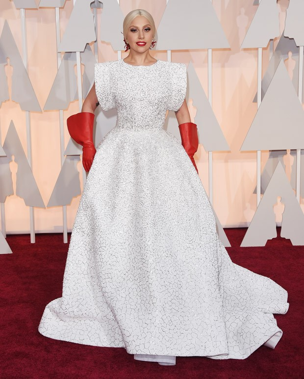 Lady Gaga no Oscar 2015 (Foto: Getty Images)