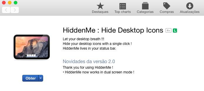 Instale o aplicativo em seu Mac (Foto: Reprodução/Helito Bijora)