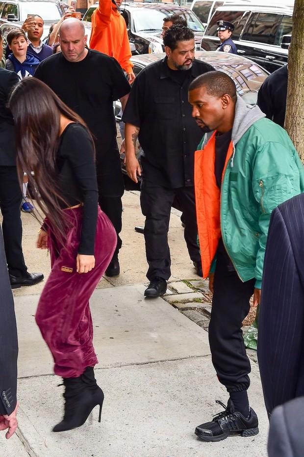 Kim Kardashian e Kanye West (Foto: AKM-GSI)