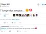 Sem espaço, lateral Diego se despede em rede social e deve ser emprestado