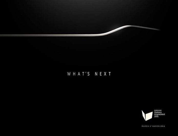 Galaxy S6? Samsung envia convites com misterioso aparelho curvado (Foto: Reprodução/SamMobile)