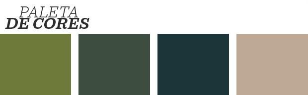 Décor do dia: quarto em tons de verde e marrom (Foto: reprodução)