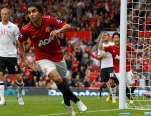 Rafael gol Manchester (Foto: Reuters)