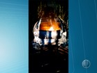 Corpo é encontrado dentro de carro em chamas na Grande Natal
