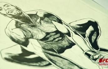 BLOG: Desenhista fala sobre criação de história em quadrinhos de Anderson Silva