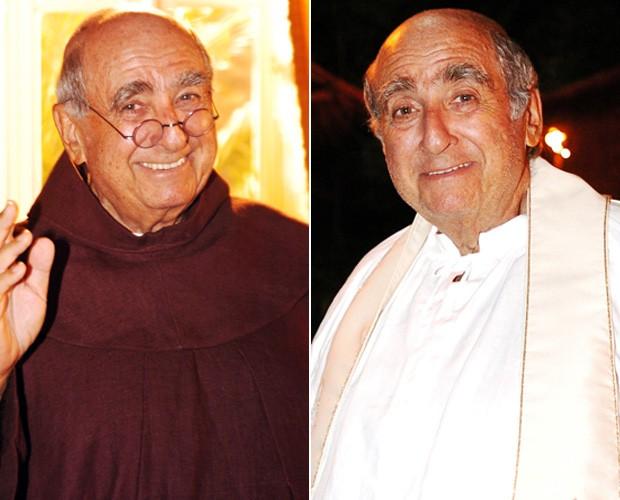 Ao longo da carreira, Gleizer fez muitos padres (Foto: João Miguel Junior e Márcio de Souza / TV Globo)
