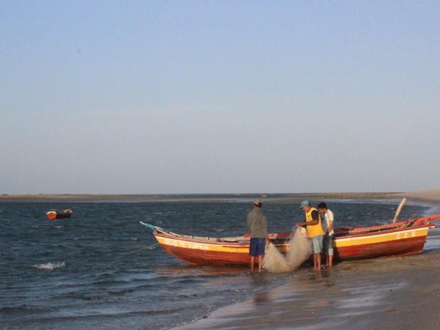 Praia de Barra Grande, no Litoral do Piauí, reserva um dos mais belos cenários do estado (Foto: Patrícia Andrade/G1)