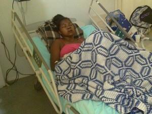 Mulher foi agredida pelo ex-marido (Foto: Fotos cedidas pela família da vítima)