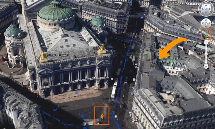 Você pode usar o Google Street View para uma experiência em fotos panorâmicas (Foto: Reprodução/Barbara Mannara)