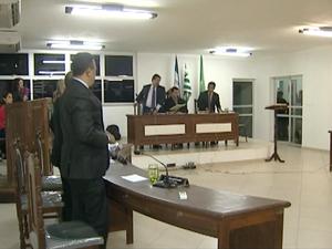 Vereadores de Jerônimo Monteiro rejeitam proposta para reduzir salário, espírito santo (Foto: Reprodução/ TV Gazeta)