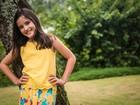 Lara Cariello, de 'Rock Story', diz se espelhar em Alinne Moraes
