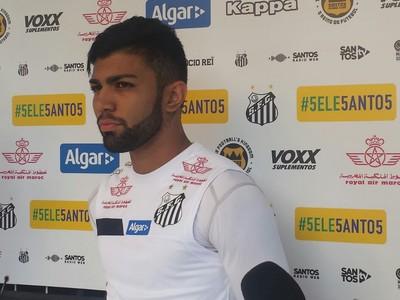 Gabriel - Santos (Foto: Bruno Giufrida)