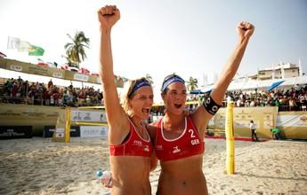 Duda/Elize cai diante de alemãs e fica com o vice-campeonato no México