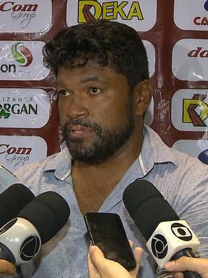 Índio Ferreira, Internacional-PB (Foto: Reprodução / TV Cabo Branco)