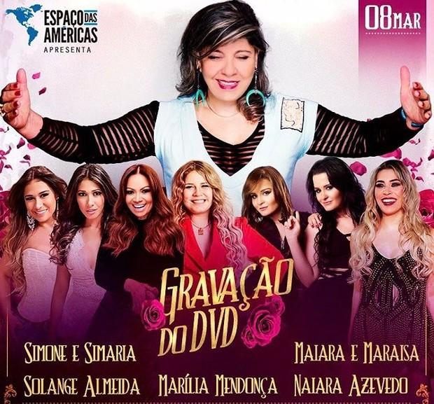 Roberta Miranda convida mulheres do sertanejo para DVD (Foto: Reprodução/Instagram)