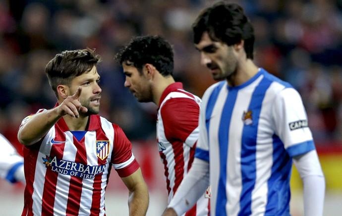 diego Atletico Madrid x Real Sociedad (Foto: EFE)