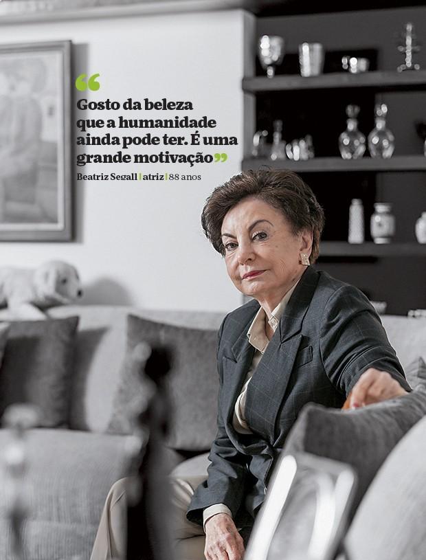 Beatriz Segall (Foto: Na Lata/ÉPOCA)