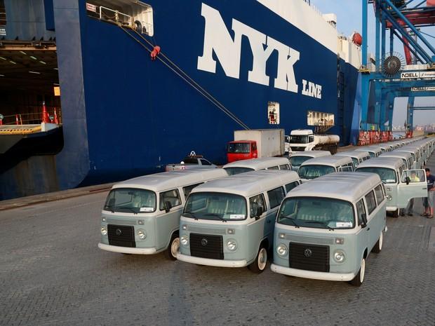 50 unidades da Kombi Last Edition vão para o México (Foto: Divulgação)