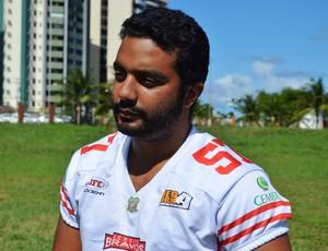 Danilo é o presidente do Sergipe Bravos (Foto: Felipe Martins)