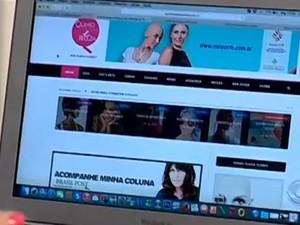 Blog contém dicas de beleza e saúde para mulheres que enfrentam o câncer de mama (Foto: Reprodução/RBS TV)