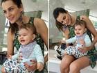 Fernanda Motta posta foto fofíssima com a filha: 'Alegria que me contagia'