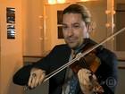Violinista pop David Garrett está no Brasil para cinco shows
