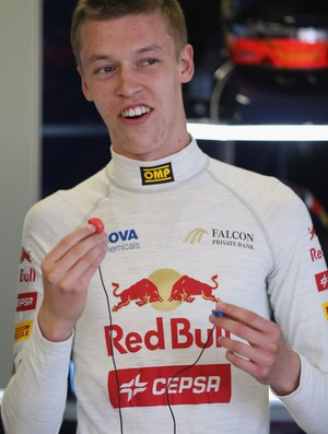 Daniil Kvyat piloto russo STR Toro Rosso (Foto: Getty Images)