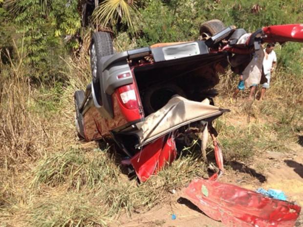 Acidente ocorreu em Luís Eduardo Magalhães, na Bahia (Foto: Edivaldo Braga/Blog Braga)