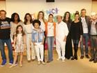 Artistas da Globo participam da coletiva do Criança Esperança 2014