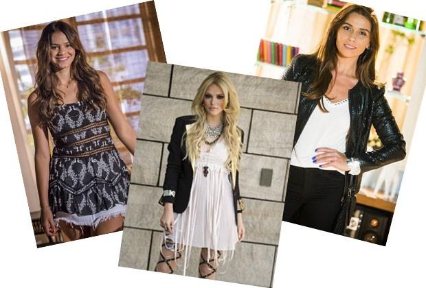Despojada, romântica ou rock sexy: qual look das personagens de televisão faz mais o seu estilo?