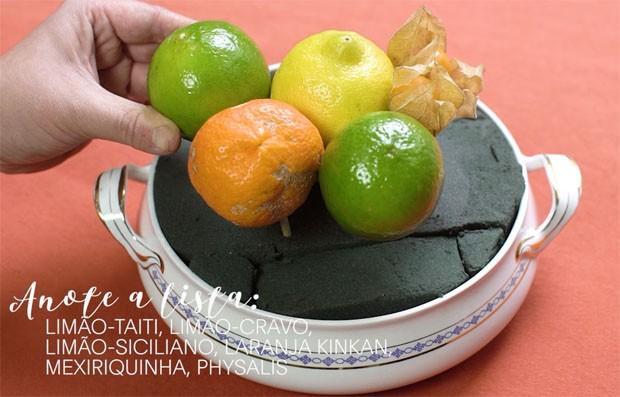 Como fazer arranjos de mesa com frutas (Foto: Reprodução)