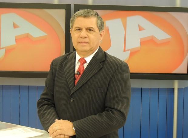 Mário Motta no Jornal do Almoço (Foto: Valéria Martins/RBS TV SC)
