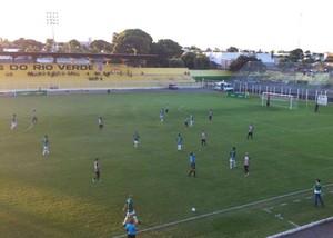 Cuiabá e Treze empataram em 0 a 0 (Foto: Assessoria/Cuiabá Esporte Clube)