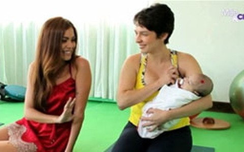 Aprenda a enrolar o bebê na manta