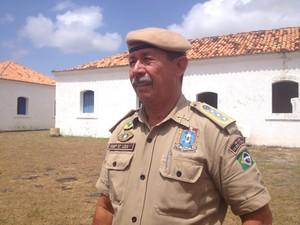 José Lúcio Pereira, presidente da Associação dos Guardas Territoriais (Foto: Fabiana Figueiredo/G1)