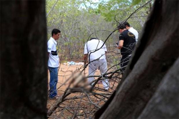 Fim de semana foi violento na região Oeste potiguar; em Mossoró, foram duas mortes; uma das vítimas foi encontrada na zona rural do município (Foto: Marcelino Neto/OCâmera)