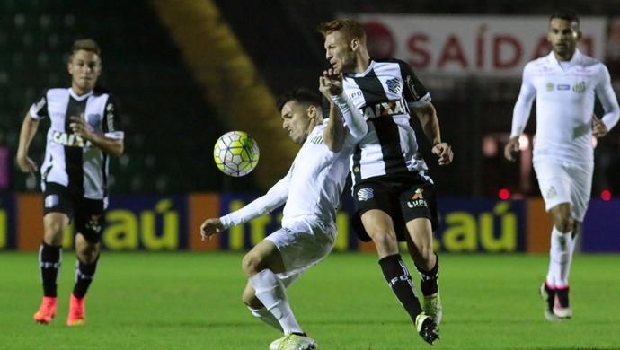 Figueirense x Santos (Foto: Luiz Henrique/FFC)
