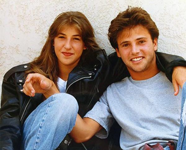 David Lascher e Mayim Bialik em 'Blossom' (Foto: Reprodução)