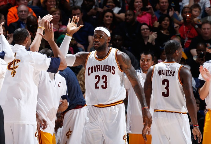 LeBron James, Cleveland Cavaliers x Indiana Pacers (Foto: Getty Images)