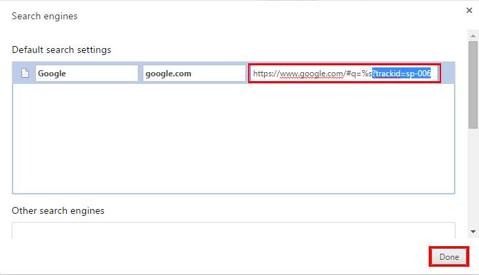 Texto pode estar oculto se o link do Google for muito grande (Foto: Reprodução/Chrome)