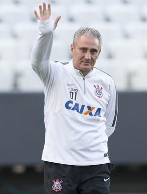 Tite treino Corinthians (Foto: Daniel Augusto Jr/Ag. Corinthians )