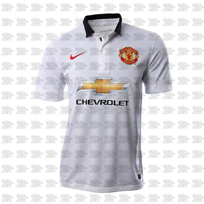 camisa Manchester United segundo uniforme